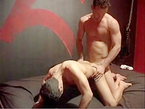 Endowed guy having anal...