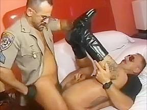 Cigar cop smoking service...