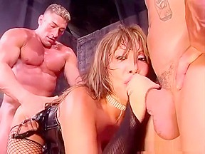 Ava devine gives men an orgy...