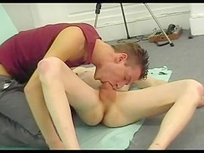 Action in gay twink porn...