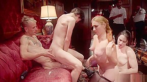 Female slaves orgy party...