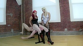Two goddess boots...