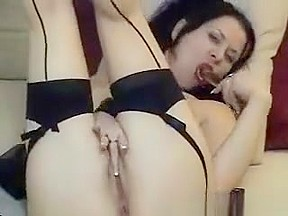 Dirty aroused bangs...
