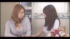 Beautiful japanese milf lesbians...