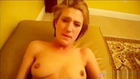 Blonde stars in superb anal home porno...