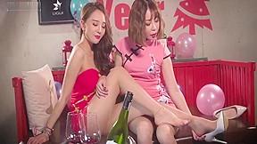 Girl feet fetish 2...