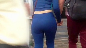 Junior ass culote en spandex...