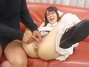 Asian chick creamed...