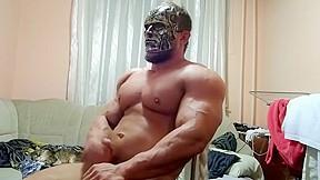 Massive bodybuilder frankenjacker...