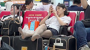 Candid chinese girl...