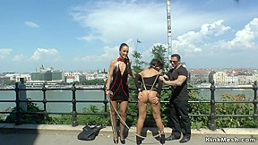 Mistress made babe public...