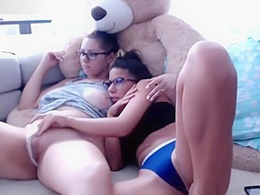 Masturbation on live webcam...