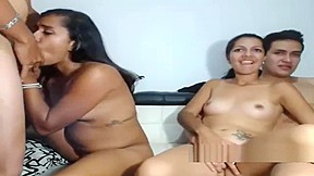 Desi foursome with beautiful young teen live webcam...