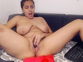 Rosasweet02 big tits latina squirt...