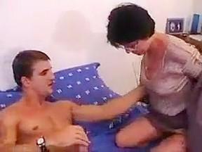Granny doing analgranny doing anal...