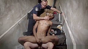 Fit police porn first time suspect on the...