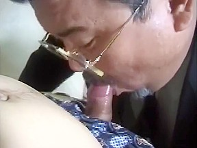 Chubby japan ceo getting fucked...