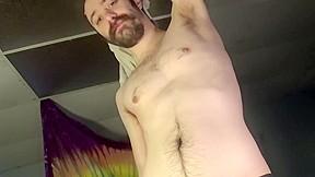Rare glimpse of masters cock bare ass...