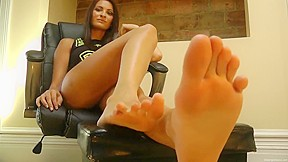 Beautiful soles from a lick my...