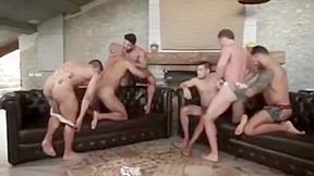 Barebacking party...