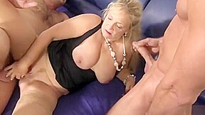Adorable breasty experienced woman sex...