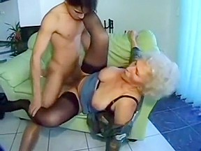 Granny fucking on a couch guy...