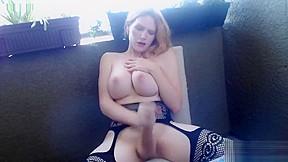 Jenna fantasma smoking and masturbating...