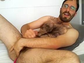 Daddy enjoy ass play...