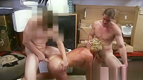 Straight suited guy get blow job...