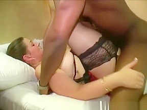 British bbw pornstar dani amour sucks dick in...