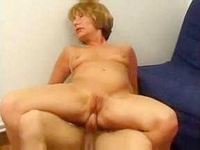 Granny french anal cumshot...