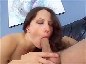 Lena Ramone Horny Long Haired COUGAR Adores Hard Cock Anal Licking