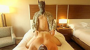 Straight alpha soldier in fucks bareback boots hotel...