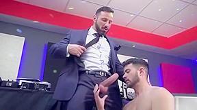 Big dick dilf anal sex with cumshot...