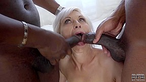Grandma has amazing interracial...