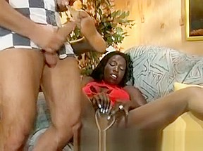 Interracial nylon dick...