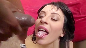 Penetration with two big black cocks...