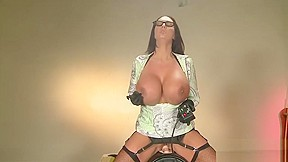 Smoking and riding the sybian...
