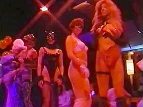 American striptease erotic illusions...
