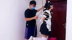 Chinese maid punish...