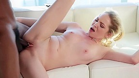 Small tits blonde angel smalls banged by strong...