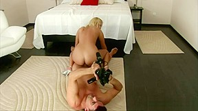 Blonde gives everything shes got casting...