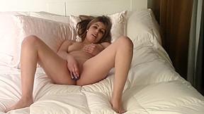 Beginner masturbates on audition to make porn so...