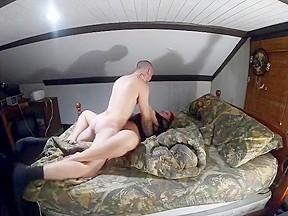 While wifes away fucking mistress milf...