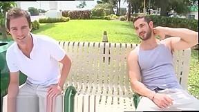 Free outdoor stroking videos gay real super...