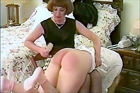 Spanked by auntie...