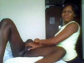 Hotel maid handjob