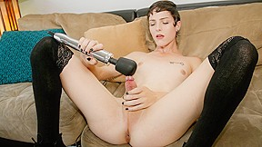 Stunning carrie emberlyn makes her case couch...