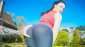 Aletta Ocean In Working Out With Aletta
