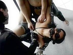 Leather gloved torture pt1...